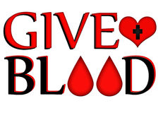 Give Blood, Donate Concept