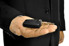 Give Car Key Royalty Free Stock Image