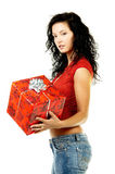 Give a gift Stock Images