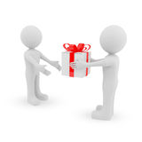 Give a gift Royalty Free Stock Photography