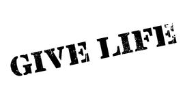 Give Life rubber stamp Royalty Free Stock Photos