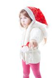 Give me christmass presents now! Royalty Free Stock Image