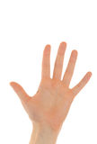 Give me five Stock Photography
