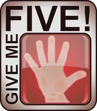 Give me five Royalty Free Stock Photo