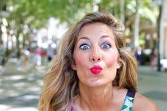 Give Me Kiss Stock Photography