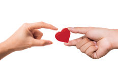 Give Me Your Love. Stock Photography