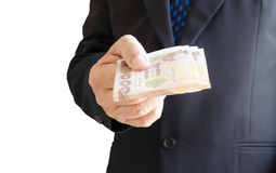 Give Money Stock Photography
