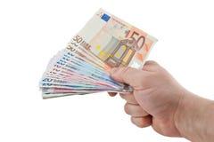 Give money Stock Photos