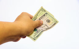 The give money. Stock Photography