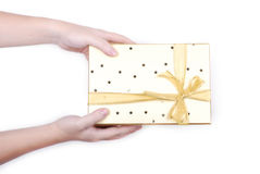 Give  present Royalty Free Stock Image