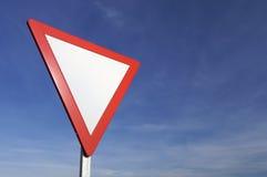 Give Way Royalty Free Stock Image