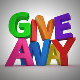 Giveaway Royalty Free Stock Photos
