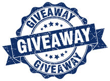 Giveaway stamp Royalty Free Stock Photography