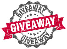 Giveaway stamp Stock Photography