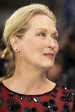 "The Giver. Iconic double Oscar-winning actress Meryl Streep arrives for the world premiere of the futuristic dystopia, ""The Giver,"" at the Ziegfeld Theatre Stock Photography"