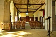 Giverny, France - saint radegonde church Stock Photo