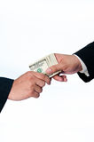 Giving a Bribe Stock Images