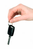 Giving The Car Keys Stock Photography
