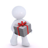 Giving the gift Royalty Free Stock Photos