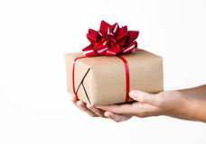Giving a Gift Stock Photos