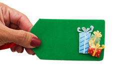 Giving Gifts Stock Images