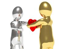 Giving heart Stock Images