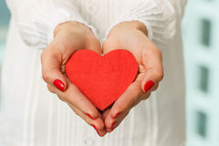 Giving Heart Royalty Free Stock Photo