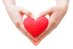 Giving love Stock Photography