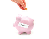 Giving money Royalty Free Stock Photography