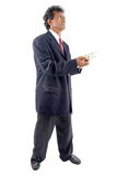 Giving Money Stock Image