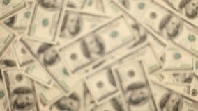 Giving Money. Money, Lots Of Hundred Dollar Bills stock video