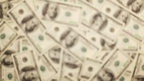 Giving Money. Money, Lots Of Hundred Dollar Bills stock video footage