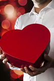 Giving my heart Royalty Free Stock Images