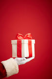 Giving present Stock Images