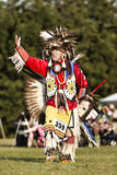 Giving thanks to mother earth. Shawnee Indian giving thanks to mother earth Stock Images