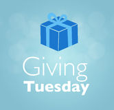 Giving Tuesday message greeting. Illustration for Giving Tuesday message greeting stock photos