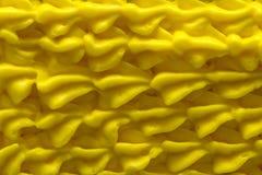 Givrage jaune Image stock