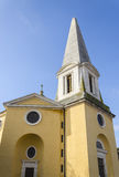 Givry, church, burgundy, France Stock Photo