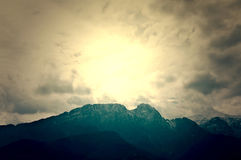 Giwewont in Tatry Mountains. Stock Photos