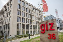 Giz budynek w Bonn Germany fotografia royalty free