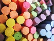 Giz colorido Fotos de Stock