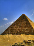 Giza 24 ostrosłupa Fotografia Royalty Free