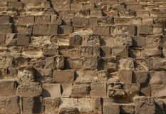 μεγάλη πυραμίδα giza Στοκ Εικόνες