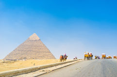 In Giza Stock Photography