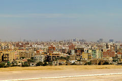 Giza buildings Royalty Free Stock Photography