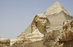 GIZA dolina W EGIPT Zdjęcia Royalty Free