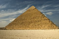 Giza III. One of the pyramids at Giza, Cairo, Egypt Royalty Free Stock Images