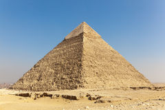 Giza Menkaure pyramids, Egypt (stadium) Stock Photos