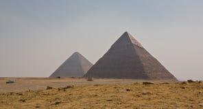 Giza Necropolis Royalty Free Stock Images