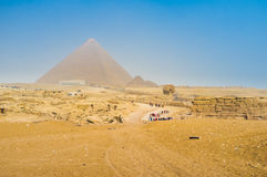 Giza Necropolis Royalty Free Stock Photography